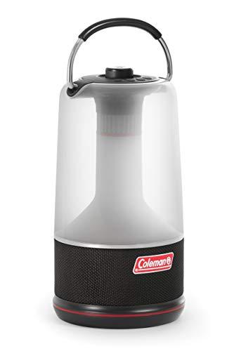 Coleman 360 Sound & Light LED Laterne mit Bluetooth Lautsprecher - Camping Lampe mit Lautsprecher, Lampe mit integrierter Bluetooth Box