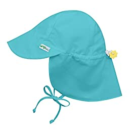 i play. by green sprouts Baby UPF 50+ Sun Protection Flap Hat