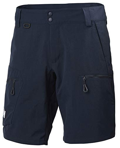 Helly Hansen Crewline Cargo Shorts, Pantaloni Sportivi, 36, Blu (Navy)
