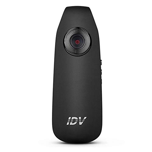 Mini Cámara HD 1080P Clip de Bolsillo Portátil Oculto Espía Mini Cámara Portátil con Detección de Movimiento Vídeo Audio Y Grabadora de Fotos