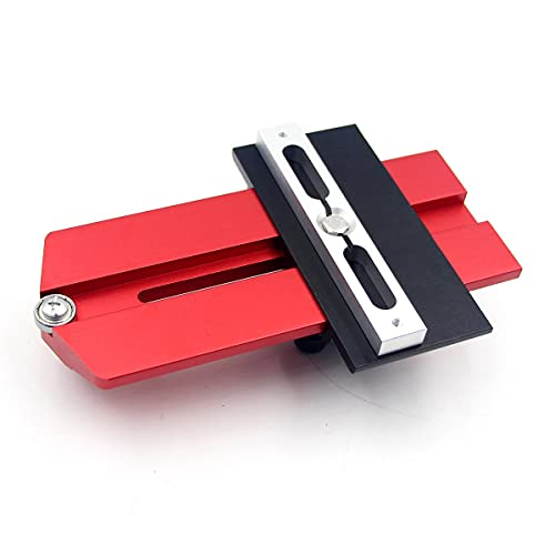 Greatangle-UK Woodworking Thin Rips Jig Repetitive Narrow Strip Cuts Thin Rips Table Saw Jig For Tablesaw Band Saw Router Table red