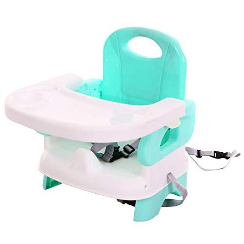 Eternitry Silla de Comedor para bebés Asiento Elevador para niños Plegable Multifuncional Portátil Duradera Silla Alta de Viaje, Mesas Asiento de Mesa para Comer para bebés