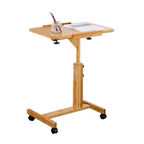 Adjustable Height Laptop Desk Sofa Table Portable Bed Desk PC Stand Lapdesks Wood Color Black YRCBHJ Laptop Table