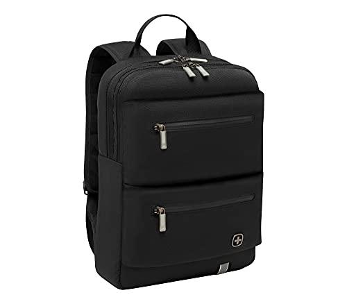 WENGER 605076 14' CityMove Laptop Rucksack mit Tablet Beutel - Schwarz {12 Liter}