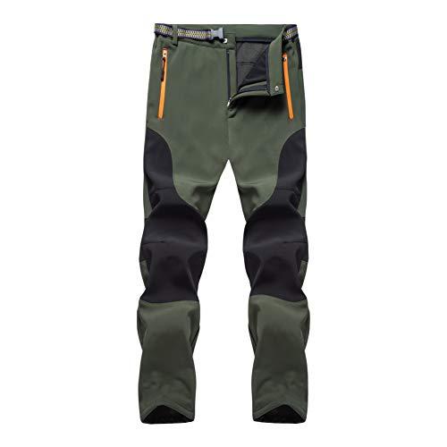 Freiesoldaten de los Hombres Forrado de Vellón Al Aire Libre Caminando Pantalones...