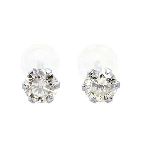 [シアーズ] Sears 0.2ct 天然 ダイヤモンド PT900 プラチナ ダイヤ ペア ピアス se56-0001-pt