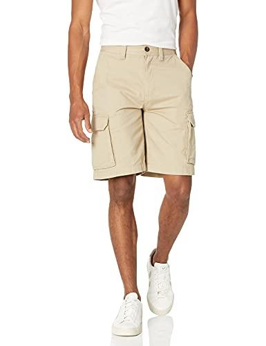 """Amazon Essentials Men's Classic-Fit 10"""" Cargo Short, Khaki, 36"""