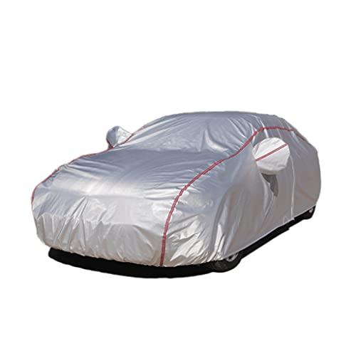 LZL Cubierta de Coche de Tela Oxford Protección UV Protección de Viento a Prueba de Viento a Prueba de Polvo Resistente a 208 '' (tamaño : For Sedan-Length (178' To 185'))