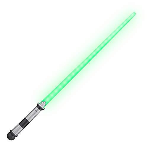 FlashingBlinkyLights Green LED Light Up Saber Space Sword