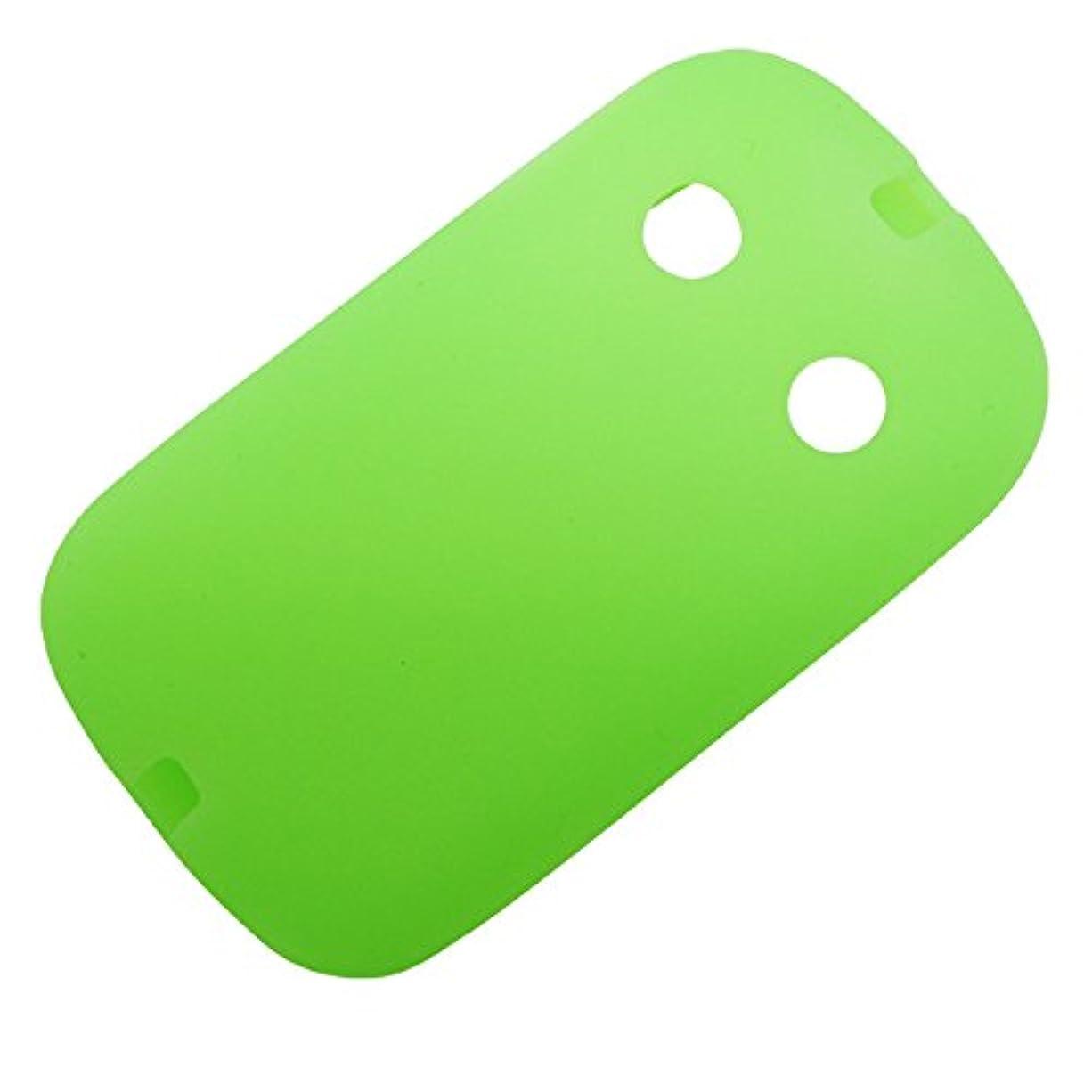 泳ぐ概要小説シリコンケース 子供用 f03j ケース 耐衝撃 グリーン キッズ携帯 カバー docomo キッズケータイ F-03J 子ども 携帯ケース 蓄光 LUCIFERA ルシファラ