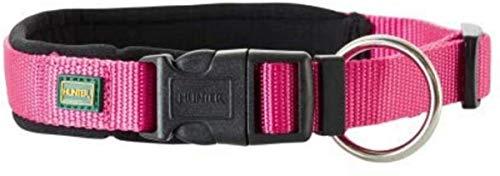 Hunter - Collar Neopren Vario Plus Cuello 40-45 Cm 20 Mm Fucsia
