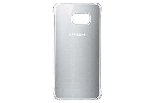 Samsung Glossy Cover für Galaxy S6 Edge Plus, Silber