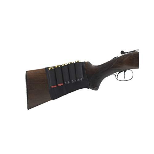 CANANA para 5 Cartuchos ELÁSTICA Adaptable A LA Culata del Arma
