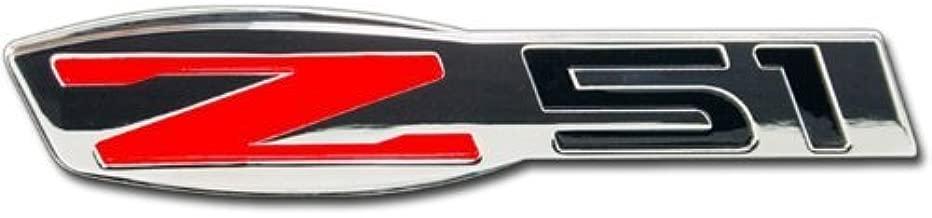 Corvette Z51 Billet Chrome Badge : C6 (1)