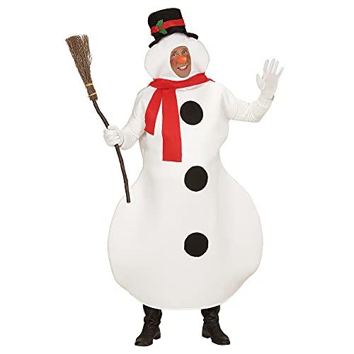 Widmann-Pupazzo di Neve Costume Adulto, Multicolore, (L/XL), 7037