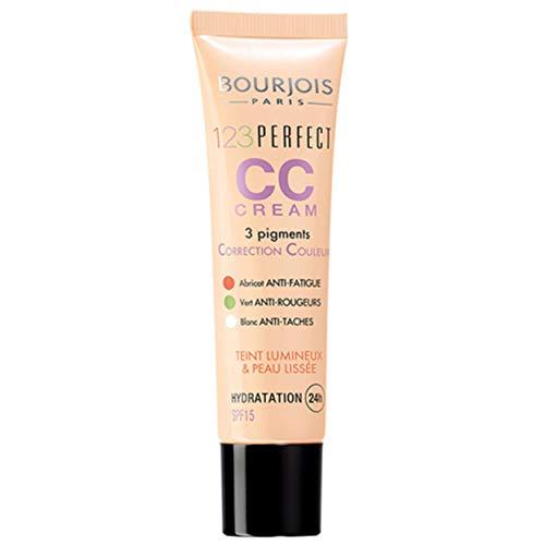 Bourjois - Cc Cream 1.2.3 Perfect - 3 Pigments Correcteurs - Hydratation 24H - 33 Rose Beige 30ml