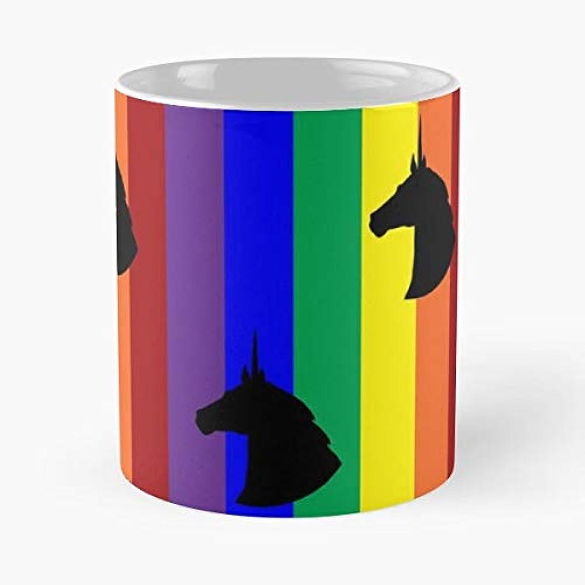 Rainbow Unicorn Ceramic Novelty Cup 11 Oz