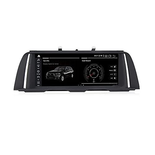 Navegación GPS para automóvil, navegación estéreo para automóvil Android Radio Reproductor MP5 Unidad principal Bluetooth 10.2 '' Pantalla táctil Android Auto Carplay incorporado Mantenga todas las