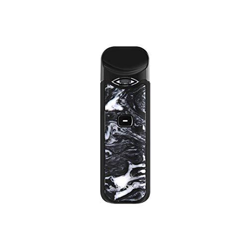 SMOK Nord Kit 3ml 1100mAh Batterie/Top füllen/Eingebauter Verdampfer Enthält BTKSY Schlüsselbund Kein Nikotin, kein Rauchöl (Black White Resin)