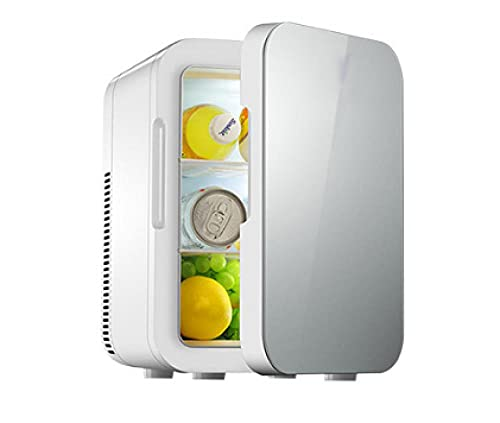 Mini Nevera 6/12/20 Litros AC/DC Con Función De Refrigeración Y Calefacción Control De Temperatura 2 En 1, Sistema De Pantalla Smart Touch Pantalla, Incluye Estantes ExtraíBles-M08l6