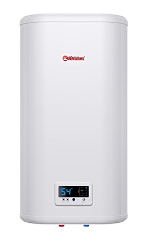 Thermex Flacher Warmwasserspeicher 2,0 kW, Innentanks aus Edelstahl, Digitale Steuerung IF 30 V Pro, 230 V, Weiß
