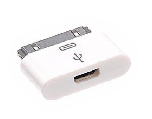 Star 30pin Dock Connector a Micro USB Adapter para iPod, iPad 2,...