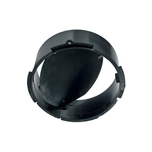Rückstauklappe Klappe Anschlussstück für Abluftschläuche Dunstabzugshaube Dunsthaube ORIGINAL Bauknecht Whirlpool 481246228619 Indesit C00330518