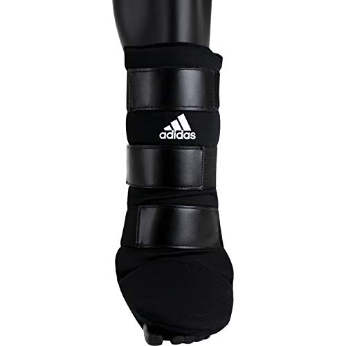 adidas Textile Shin Instep Guard Schienbeinschutz, Schwarz/Weiß, M