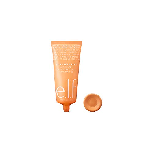 e.l.f., SuperClarify Cleanser, Lightweight, Gentle, Effective, Soothing, Removes Makeup and Impurities, Prevents Clogged Pores, Strengthens , Infused with Lavender, 3.4 Fl Oz