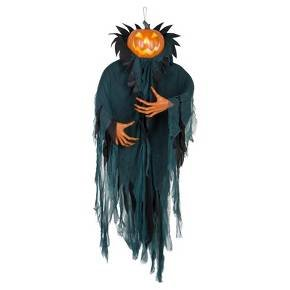 Animated (Lights & Sounds) Decorative Halloween Pumpkin Ghoul - Hyde & EEK! Boutique™