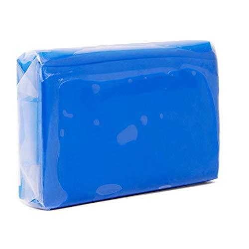 Reinigungsknete Auto, Car Clay Bar, 100g Blauer Auto-Schönheits Reiniger, geeignet für Autolack, Glas, Spiegel (4 Stück)