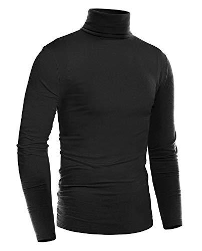 Turtleneck Sweaters Suit Men