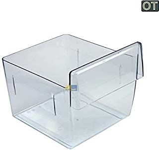 AEG Electrolux verduras Carcasa, verduras compartimento 295x 235x 225mm, transparente para frigorífico 2247074186sustituye 2247074145
