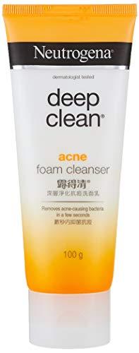 Neutrogena Deep Clean Nettoyant moussant pour acné sans brillance 100 g