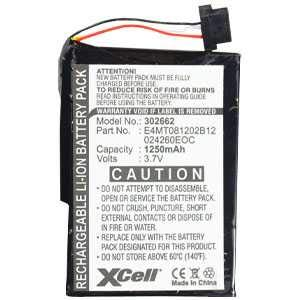 Batería 1250mah para medion Gopal pna465 pna470 pna470t p4410 batería nuevo accu