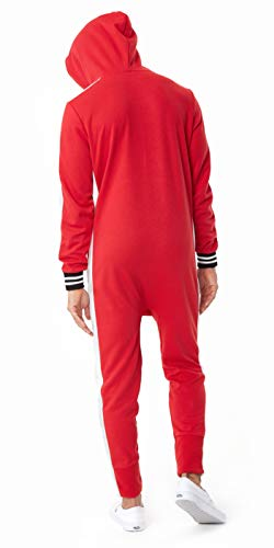 OnePiece Damen Jumpsuit Unisex Rider Retro, Rot (Red) Small - 2