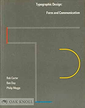 Paperback Typographic Design : Form and Communication Book