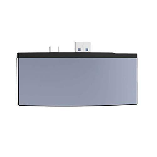KKAAMYND USB3.0 Docking Station Converter Cargador de Viaje Adaptador de Corriente Enchufe Plástico ignífugo Convertidor Go / 4/5/6 / HD, (Gris), Concentrador USB 6 en 1: Compatible con Surface Pro