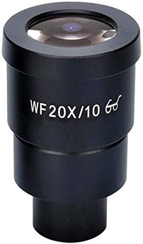 SHKUU Telescopio monocular, Especial para microscopio estereoscópico, Ocular Gran Angular con Punto de Vista Alto WF10X-WF20X con Escala de medición de diferenciación HD