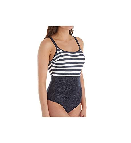 PrimaDonna Women's California Underwire Cup One Piece Swimsuit 4004938 38F Blue Legend