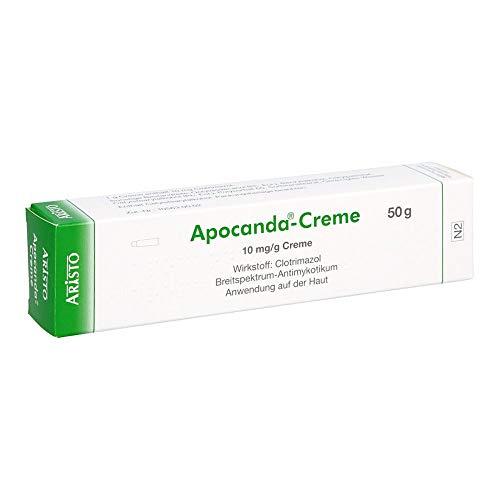 Apocanda-Creme Breitspektrum-Antimykotikum, 50 g Creme