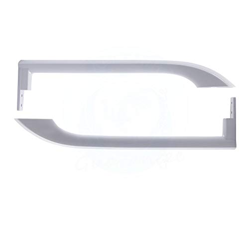 Price comparison product image Lifetime Appliance 5304506469 Door Handles Compatible with Frigidaire Refrigerator - 5304504507,  5304486359,  242059501,  242059504