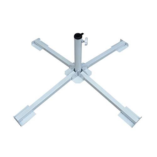Vosarea Support de Parapluie Pliable Portable Support Parapluie réglable Parasol Ancre