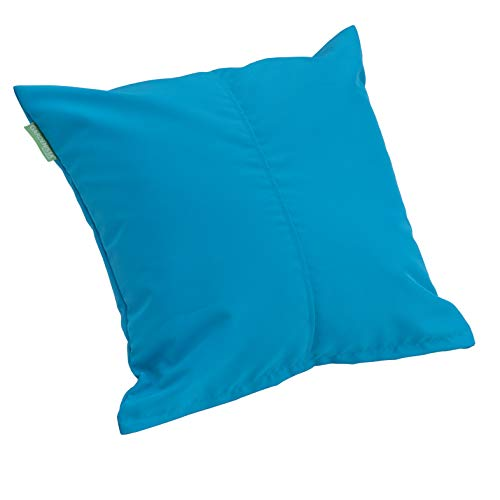Gardenista | Outdoor Water Resistant Foam Crumb Filled 18' Garden Furniture Cushion (Turquoise)
