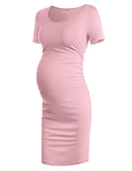 Musidora Pink Maternity Dresses for Photography S