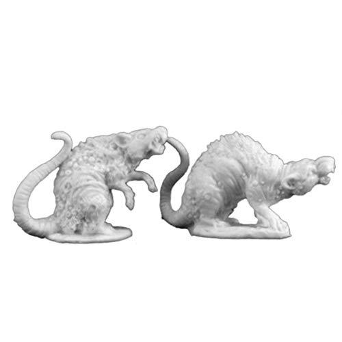 Bones Barrow Rats (2) Miniature Reaper