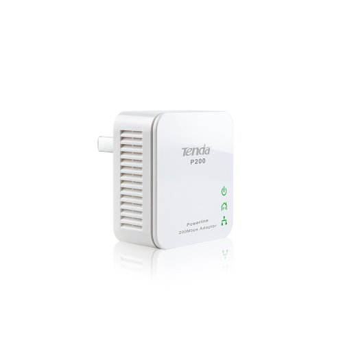 Tenda P200 - Adaptador de Red (200 Mbps) Color Blanco