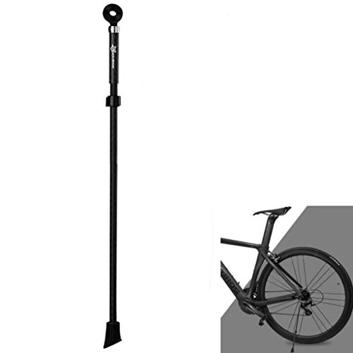 """QAZWC-A1 Bicycle Alloy Side Kickstand Portable Quick Release Stand Rack Accessory for Mountain Bicycle Road Cycling 24""""- 28"""" and 700c (Color : Black)"""