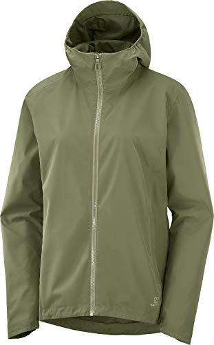 Salomon Damen COMET Waterproof Jacket, Grün (Olive Night), S