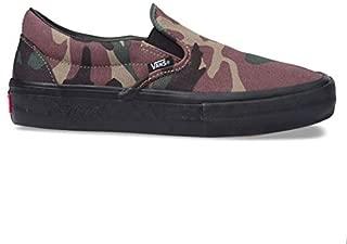 Vans Slip-On Pro Sneakers (NV/STV/NV) Men's Classic Suede Skateboarding Shoes